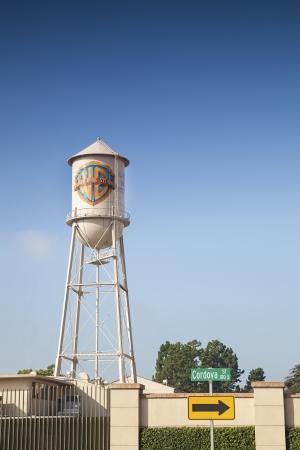 warner: Gate to Warner Bros Studio, Los Angeles