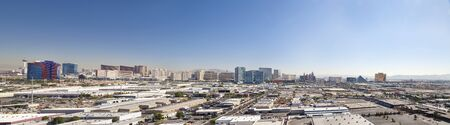 Skyline of Las Vegas City, Nevada, USA photo
