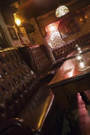 Irish or British Pub inviting guests Standard-Bild