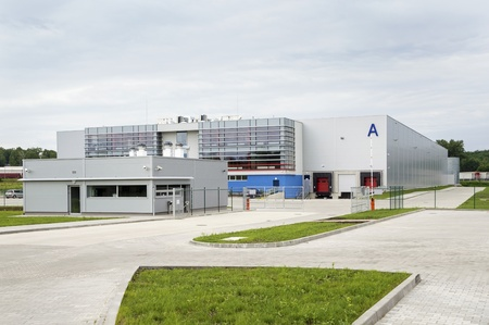 edificio industrial: Moderno, Vac�o, A estrenar, enorme almac�n