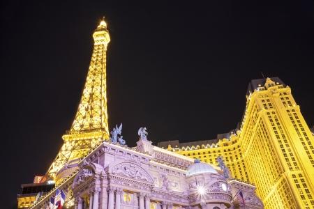 Las Vegas, USA - October 1, 2012  Landmarks of The Las Vegas Strip Editorial