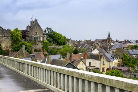 Gothic buildings in Le Mans, Sarthe, Pays de la Loire, France