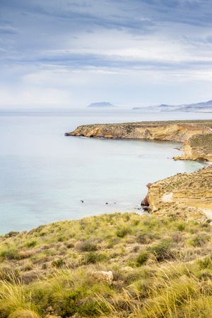 Amazingly beautifull coast in Mazarron, Spain, Europe photo
