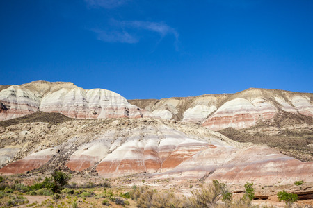 Rock formation in Capitol Reef National Park, Utah, USA photo