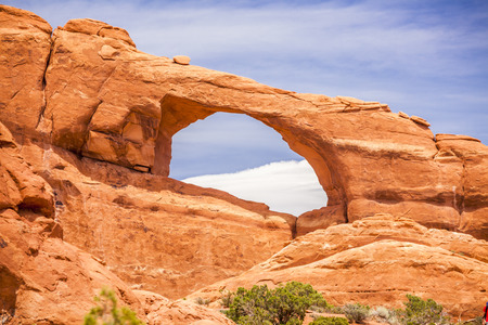 moab: North window in Arches National Park, Utah, USA