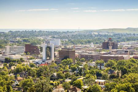 Panorama of Rapid City, South Dakota, USA 写真素材
