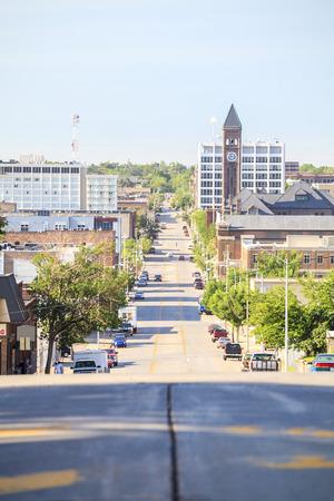 sioux: Downtown of Sioux Fall, South Dakota, USA