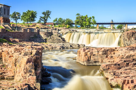 Beauty of nature in Sioux Falls, South Dakota, USA Stock Photo