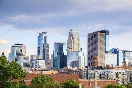 Skyscrapers of Minneapolis, Minnesota, USA photo