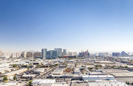 las vegas metropolitan area: Panorama of Las Vegas, Nevada, USA