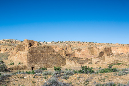 anasazi: Buildings in Chaco Culture National Historical Park, New Mexico, USA