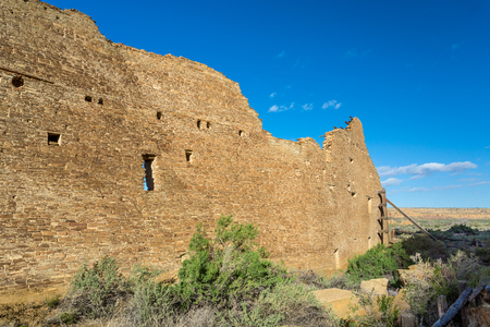 chaco: Buildings in Chaco Culture National Historical Park New Mexico USA
