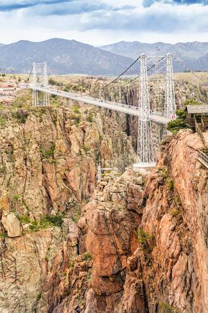 colorado city: Royal Gorge Suspension Bridge, Canon City, Colorado