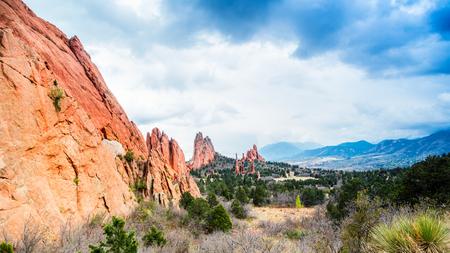 god: Garden of the Gods Natural Park, Colorado, USA Stock Photo