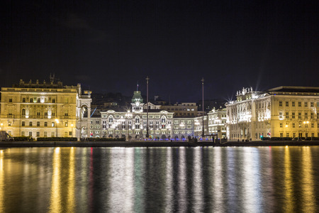 trieste: City Hall in Trieste, Northern Italy