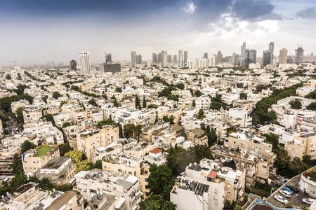 aviv: Panorama of Tel Aviv, Israel, Middle East