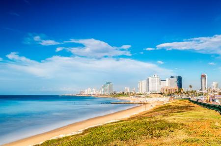 jaffa: Tel Aviv Panorama taken from the south, Israel