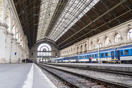 Keleti Train Station, Budapest city center, Hungary