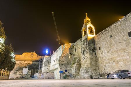 autonomia: Iglesia de la Natividad, Bel�n, Autonom�a Palestina, Oriente Medio Foto de archivo