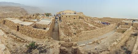 judean hills: Masada National Park - ruins of famous Israeli fortress, Israel