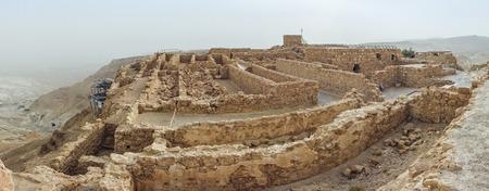 masada: Masada National Park - ruins of famous Israeli fortress, Israel