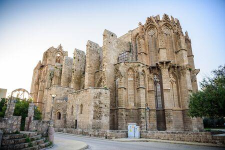 mustafa: Lala Mustafa Pasha Mosque in Famagusta, Northern Cyprus