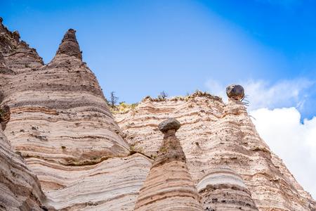 kasha: Unusual rock formations in Kasha Katuwe Park, New Mexico, USA