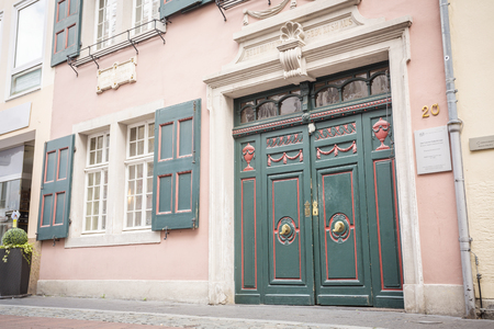 beethoven: Museum in the house, where Ludwig van Beethoven was born, Bonn, Germany