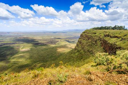Beautiful landscape of Menengai Crater, Nakuru, Kenya, East Africa