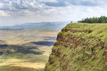nakuru: Beautiful landscape of Menengai Crater, Nakuru, Kenya, East Africa