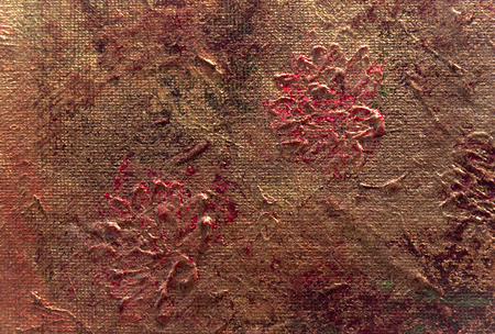 fragment of textured oil painting as background Stok Fotoğraf