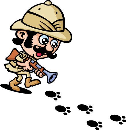 охотник: Охотник Иллюстрация