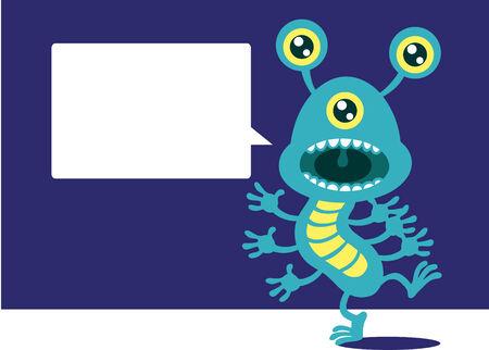 Germ Speak Stock Vector - 8777602