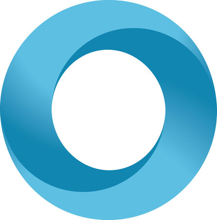 Infinity circle Stock Vector - 8885244