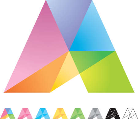 Triangle icon Stock Vector - 8885248