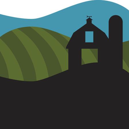 land animals: Barn Icon