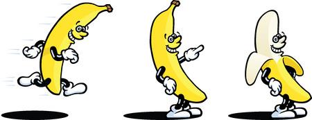 banana peel: Banana Man
