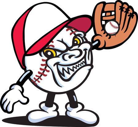 Baseball Guy Vector