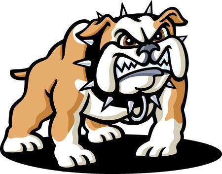 bad mood: Bulldog