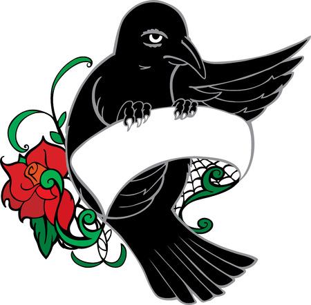 fantail: Bird tattoo