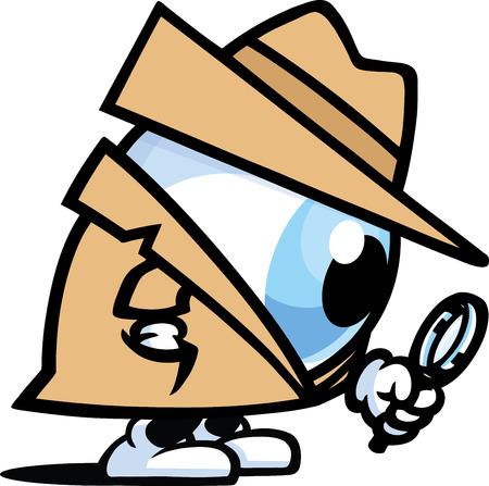 Occhio spia Vettoriali