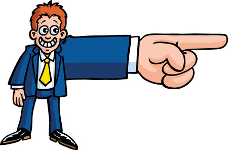 Business Guys Hand Stock Vector - 9072880