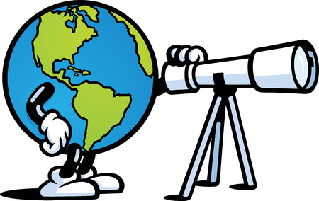 Earth Scope Vector