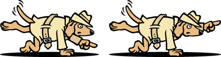 Search Dog Stock Vector - 9072881