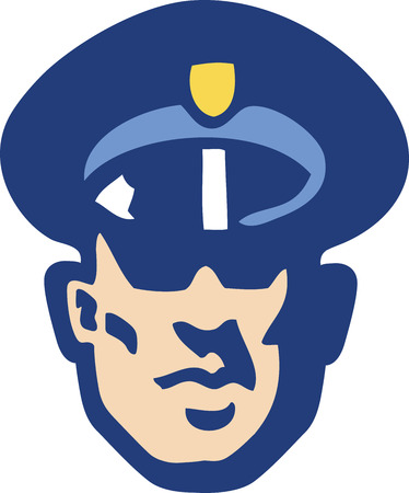 police icon: Security Guard