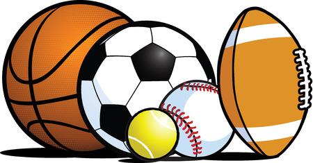 Sports equipment Stock Vector - 9072925