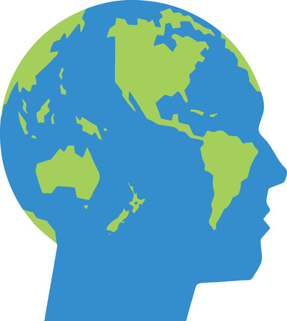 World Head Vector
