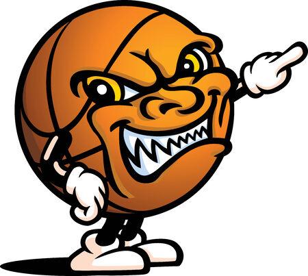 ball point: Evil Basketball Guy - Point