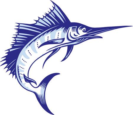 Marlin Ilustración de vector