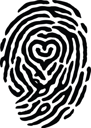 findings: Fingerprint Heart